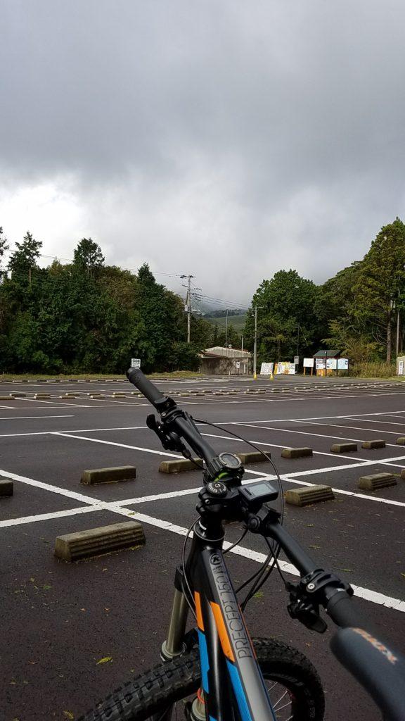 MTB 細野高原 大駐車場