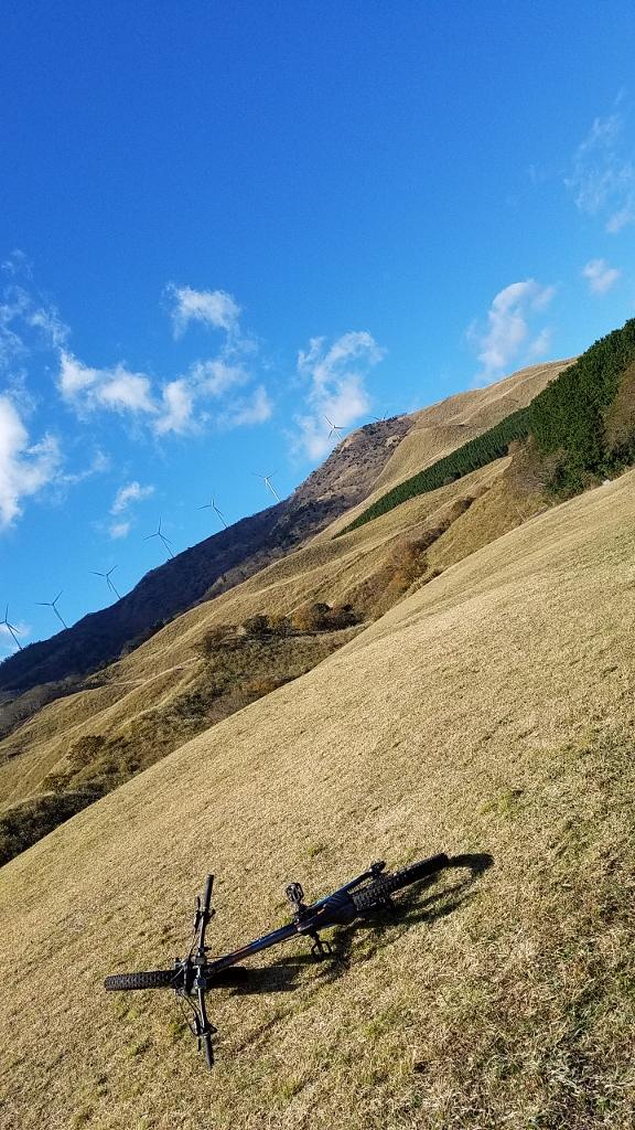 MTB 休日のスタート地点 細野高原 パラメインランディング