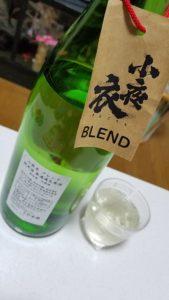 今宵『楽酒』・・・ブレンドにっぽん酒???