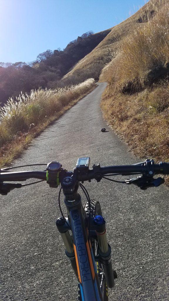 マウンテンバイク 三筋山 ヒルクライム
