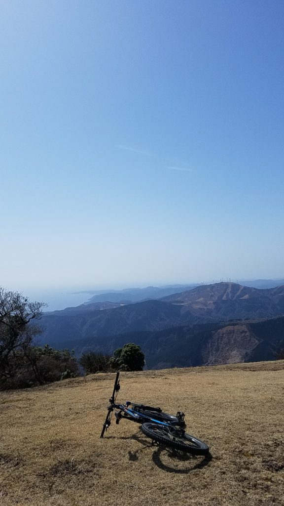 MTB 箒木山 山頂 絶景